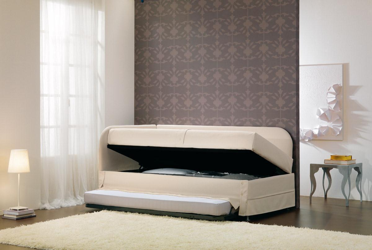 Beautiful Letto Singolo Con Contenitore Gallery - Home Design ...