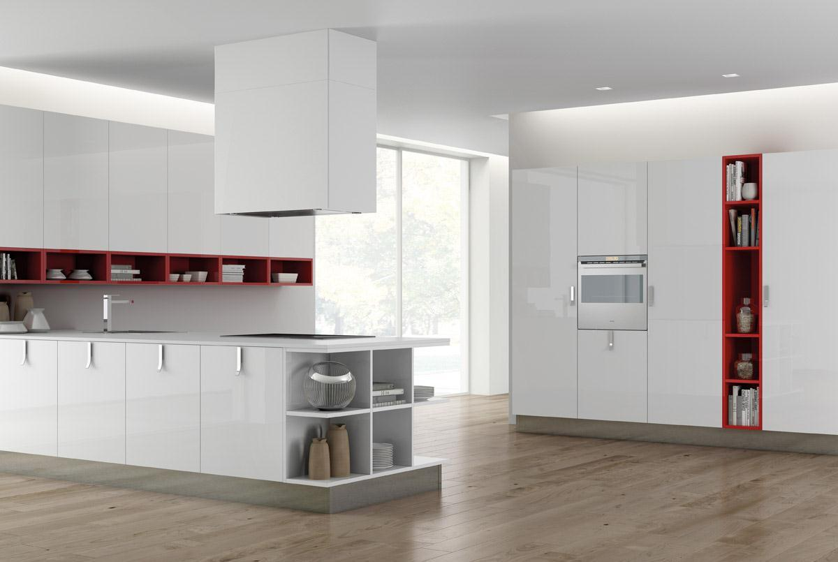 Berloni softly arreda for Immagini cucine moderne