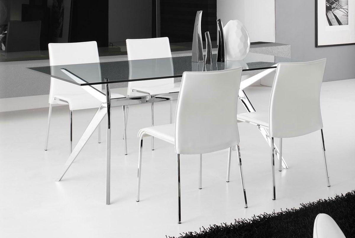 Tavolo con sedie da cucina tavolo rotondo estensibile - Epierre