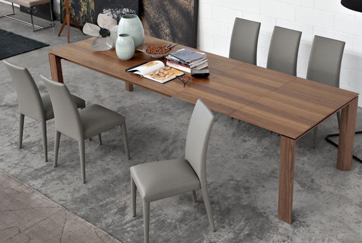 Tavoli e sedie softly arreda for Sedie legno calligaris