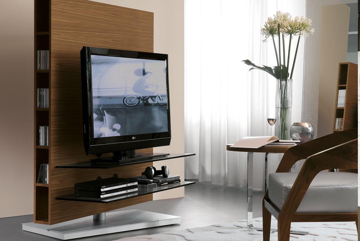 Rivestimento camino rustico - Mobili tv angolo ...