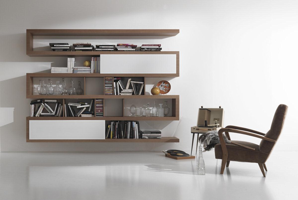 Librerie A Muro Moderne. Gallery Of Libreria Design A Parete Arbor ...