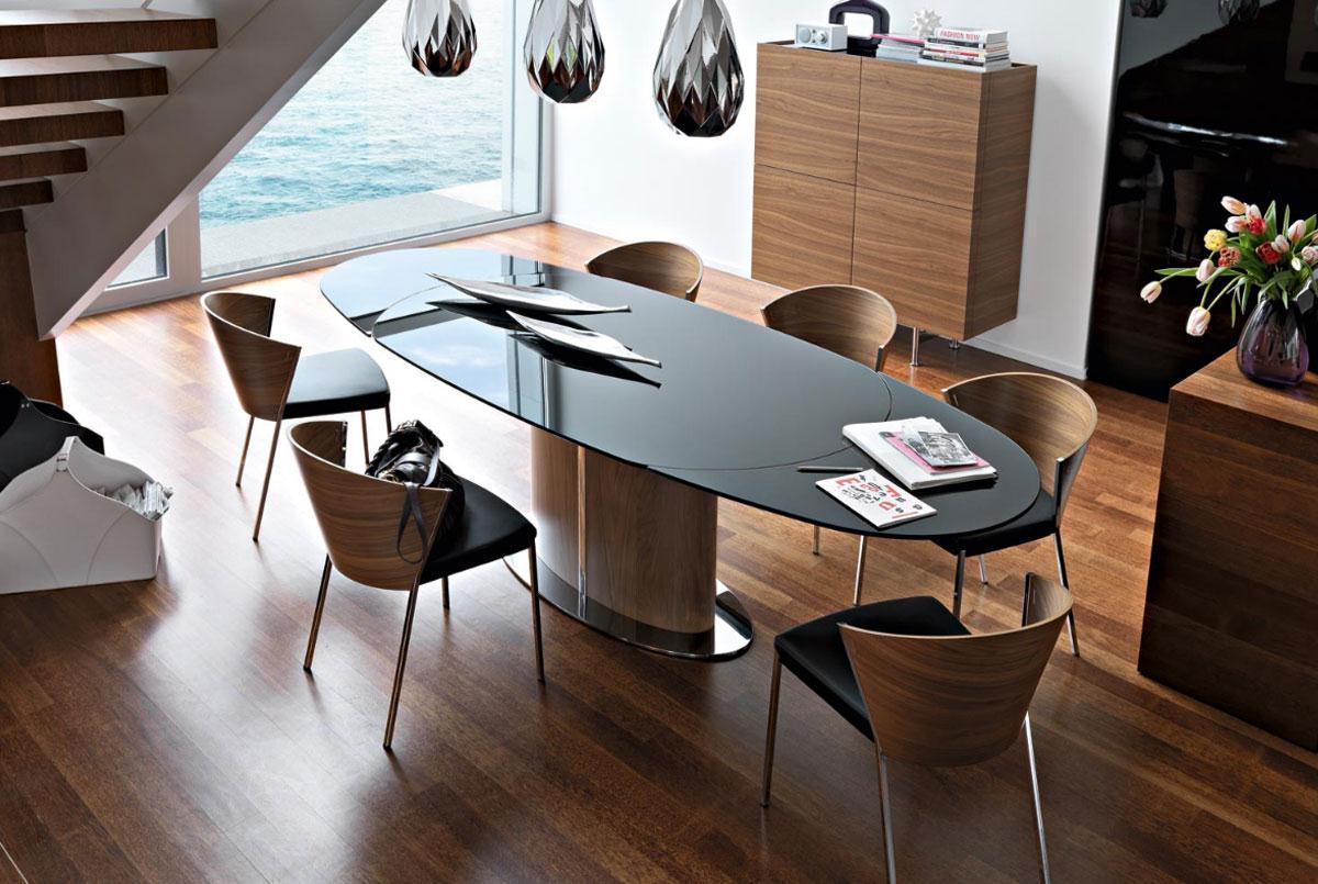 TAVOLI E SEDIE Softly Arreda #8E5E3D 1200 805 Salotti E Sale Da Pranzo Moderne