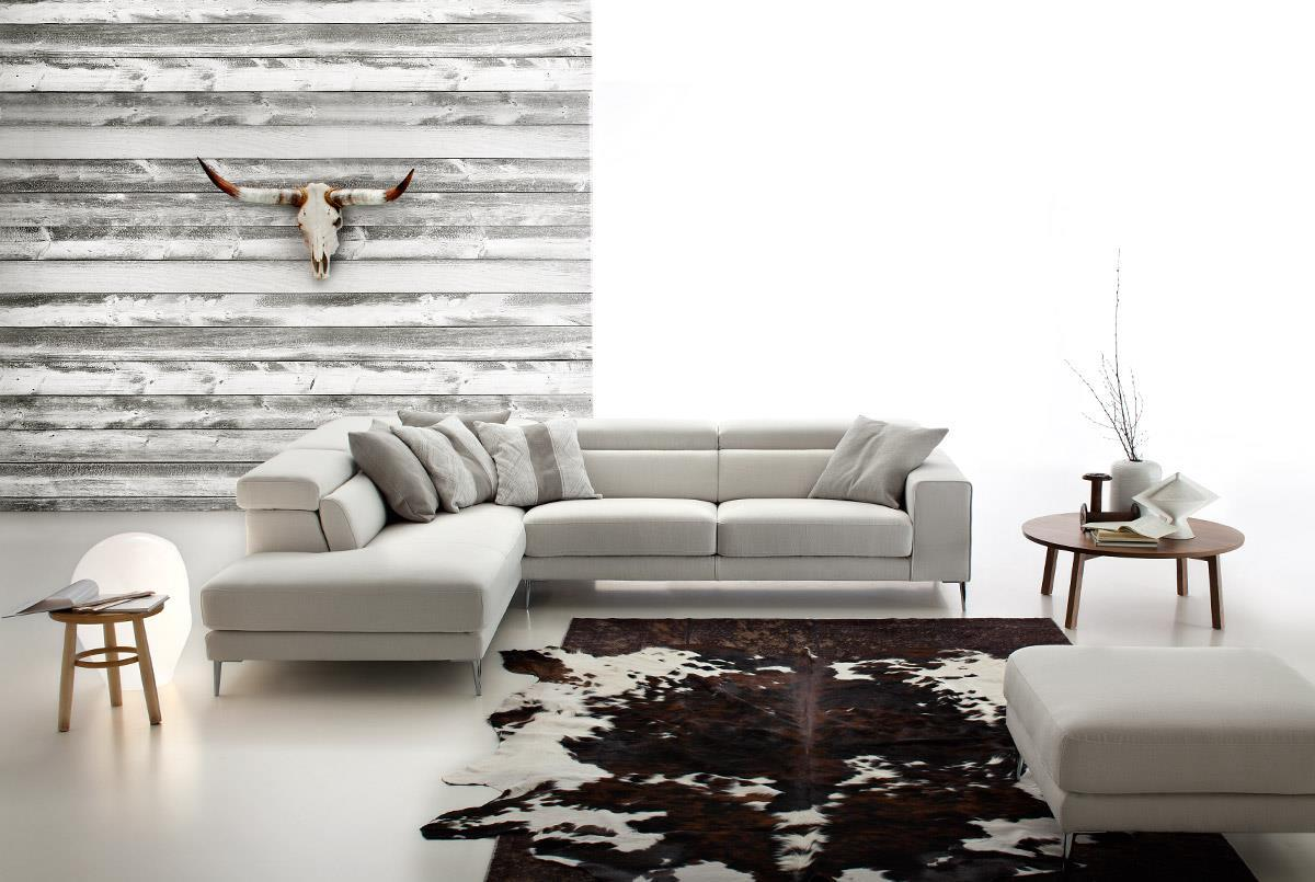 Outlet Divani Design. Divani Casa Sofa Set Modern Fabric Brown ...